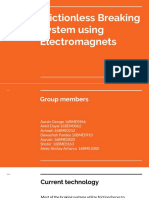 Frictionless Breaking System Using Electromagnets (2)