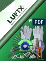 Catálogo de parafusos  lufix