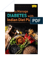 How to Manage Diabetes With Indian Diet Plan