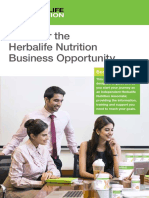 Discover the Herbalife Nutrition Business Opportunity