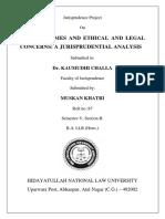 Sem5 Jurisprudence PDF