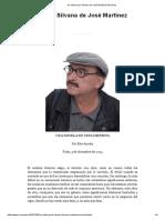 Un Adios Para Silvana de José Martínez Sánchez - VERICUETOS