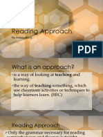 Reading Approach
