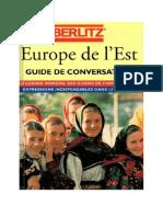 - Europe de l'Est - Guide de Conversation 12 Langues-Berlitz (1996)