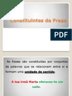 Constituintes Da Frase-1