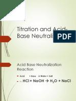 Titration 1