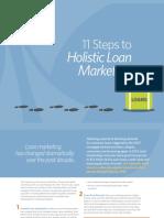 11 Steps to Holistic Loan Marketing