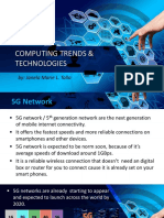 Computing Trends and Technologies