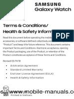 Samsung Galaxy Watch User Manual