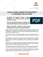Repsol Makes Largest Gas Discovery