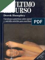 Derek Humphry - El Último Recurso