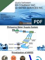 Financial Analysis of Manila Water & Maynilad