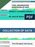 Statistics Group 1 English
