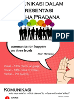 Komunikasi dalam Presentasi