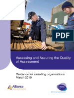 Assessing and Quality Assuring Assessment Guidance Document Final April10 V1_0
