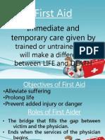 First Aid Teaching Demo