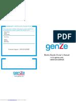 Genze e101 User Manual