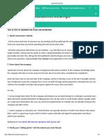 30 Job Interview Tips