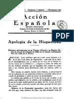 Acción Española (Madrid). 1-11-1934, n.º 64