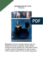 Minisinoo Aorist Subjunctive Chapter 3