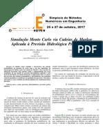 Estrutura Bayesiana e Simulação Da Cadeia