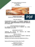 Proyecto piscicola El Peñón Bolivar