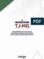 TJ-MG Prova Comentada 2018