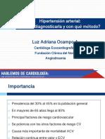 HIPERTENSION DIAGNOSTICO 8-9-19