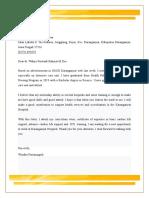 Letter Windha