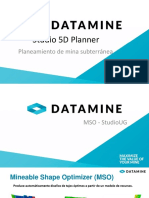Software minero reservas