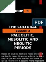 LEKSYON 2 UCSP Paleolitiko