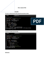Data Analyst Path Programs
