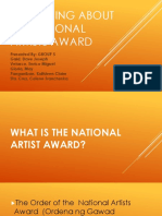 Everything About the National Artists Award