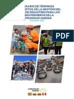 Glosario Gestión De Riesgo SGCA