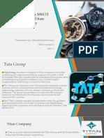 PPt on Titan Company.pptx