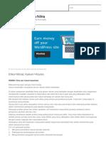 Etika dan Hukum Kesehatan | Catatan Kuliahnya Nilna.pdf