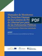 Manuales de Monitoreo de DDHH