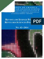 Revista Stiinte Politice Issue 42