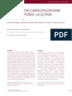 REANIMACIÓN CARDIOPULMONAR EXTRACORPÓREA_ LA ÚLTIMA FRONTERA.pdf