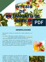 Butanoato de Metilo