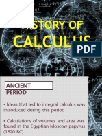 History of calculus