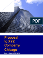 XYZ Company Proposal