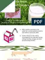 pathogenesis in milk