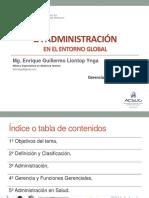 1º Administración Entorno Global 2019-II