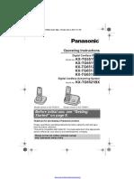Panasonic Kx Tg6511bx