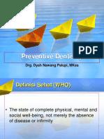 Preventive Dentistry 2016