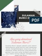 Sulaman Burci