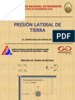 presion lateral