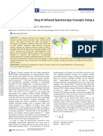 Supporting the Teaching of Infrared Spectroscopy Concepts Using a Physical Model