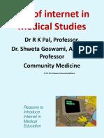 Use of Internet in Med Studies RK 8.7.2019